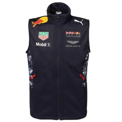 GILET Bodywarmer Vest Red Bull Racing Formula One 1 Team 2017 PUMA F1