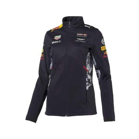 JACKET ladies Soft Shell Red Bull Racing Formula One 2017 Womens PUMA F1