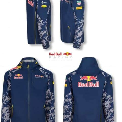 JACKET RAIN COAT RED BULL RACING FORMULA ONE TEAM MENS