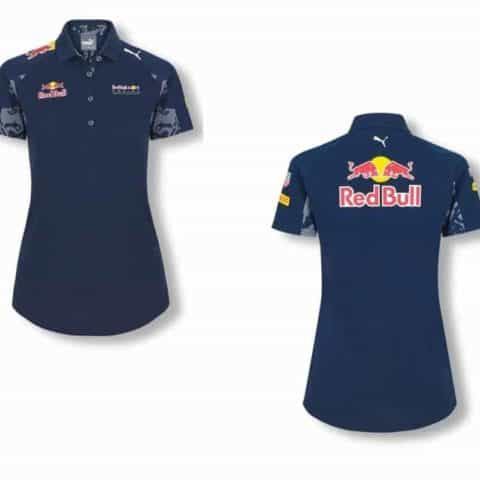 POLO ladies Red Bull Racing PUMA Womens Poloshirt Formula One 1 F1 Navy