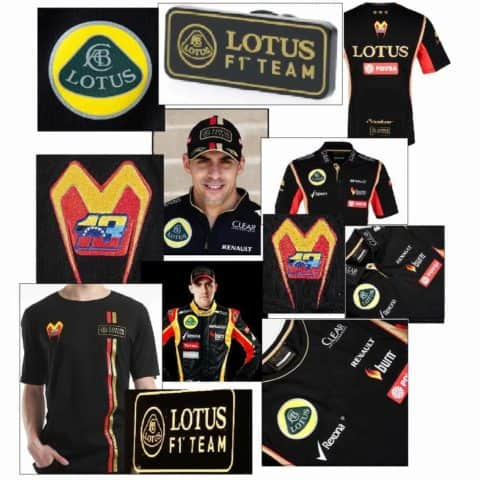 VALUE! POLO 2 T-SHIRTS CAP BADGE Lotus Pastor Maldonado Formula One F1