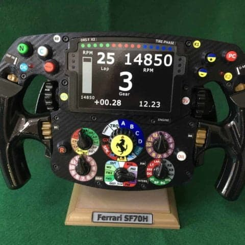 Ferrari SF70H Replica Steering Wheel