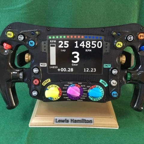 Mercedes W08 Replica Steering Wheel