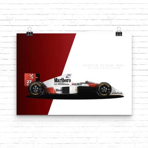 Senna Collection: McLaren MP4/5 1990