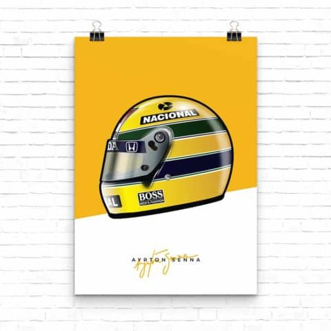 Senna Collection: Ayrton Senna 1988 Helmet