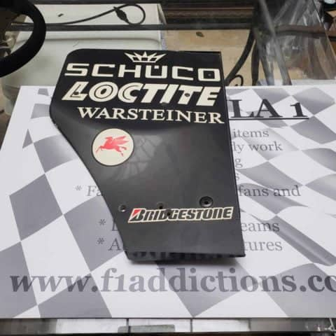 NOW SOLD-McLaren MP4-16 rear wing endplate