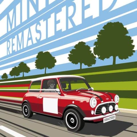 MINI REMASTERED, INSPIRED BY MONTE CARLO VINTAGE POSTER