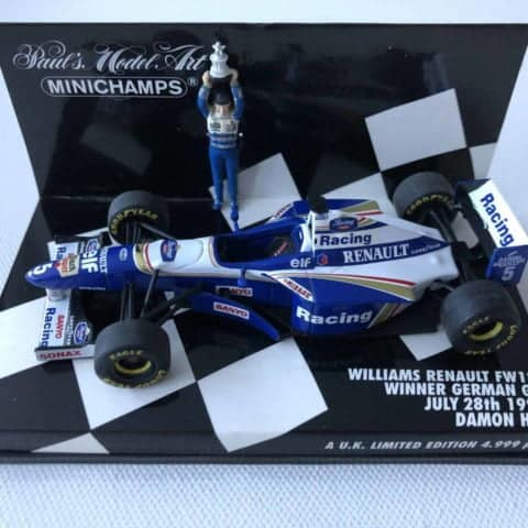 Damon Hill | Williams Renault FW18 | 1:43 Minichamps Diecast F1 Model