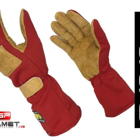 Ayrton Senna 1990 Replica racing gloves