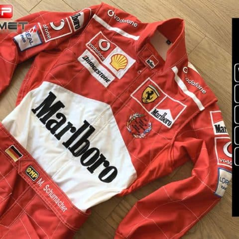 Michael Schumacher World champion Racing Suit Ferrari F1