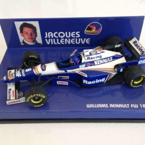 Jacques Villeneuve | Williams Renault FW18 | Minichamps Diecast 1:43 Minichamps
