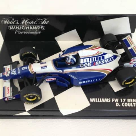 David Coulthard | Williams Renault FW17 | Minichamps Diecast 1:43 Minichamps