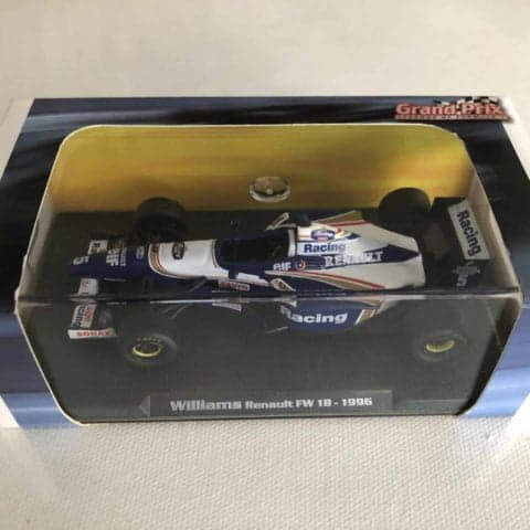 1996 / Damon Hill / Williams Renault FW18 1:43 Atlas Editions F1 Model