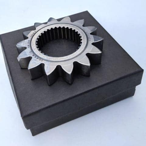 Race & test used Marussia F1 gear ratio, would make a great paperweight or office desk accessory
