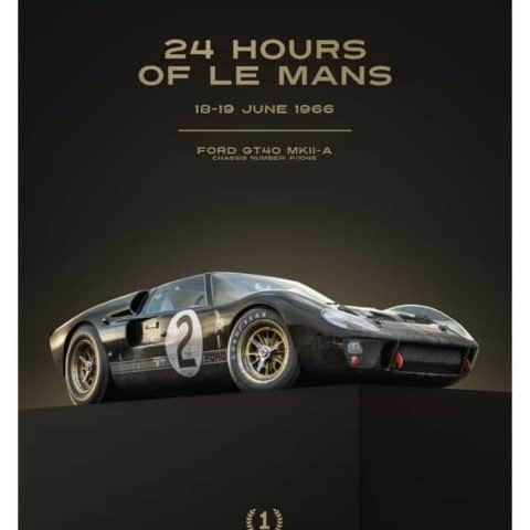 Ford GT40 - Black - 24h Le Mans - 1966 | Collectors Edition