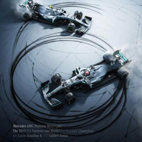 Mercedes-AMG Petronas Motorsport - Donuts | Collectors Edition