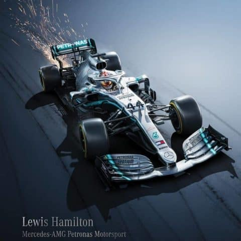 Mercedes-AMG Petronas Motorsport - Lewis Hamilton | Collectors Edition