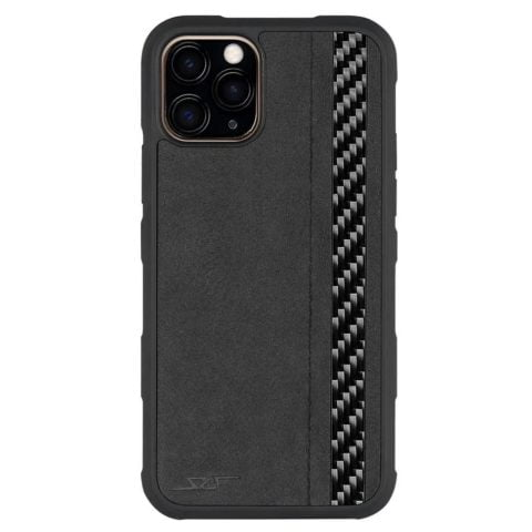 iPhone 11 Pro Alcantara & Real Carbon Fiber Case | ARMOR