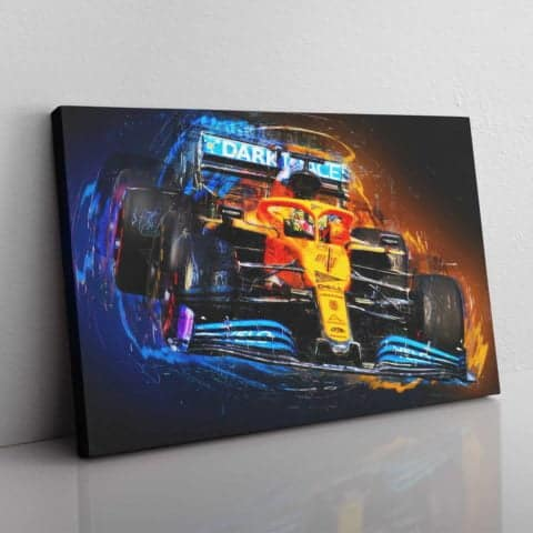 Electric Lando wall canvas