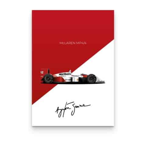 Senna Collection: McLaren MP4/4 1988