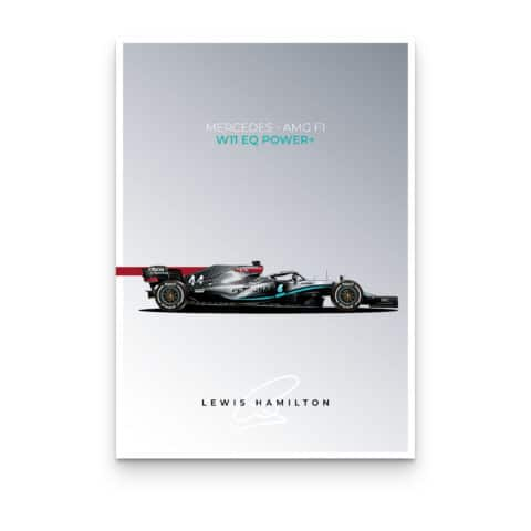 Mercedes-AMG W11 Posters