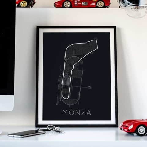 Full -Throttle Formula 1 – Monza Poster