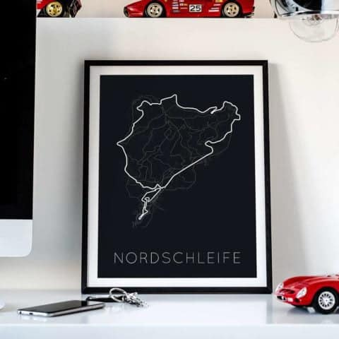 The Green Hell - Nordschleife Poster