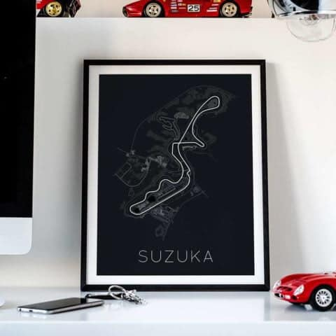 The Legendary 8 – Suzuka Circuit Poster