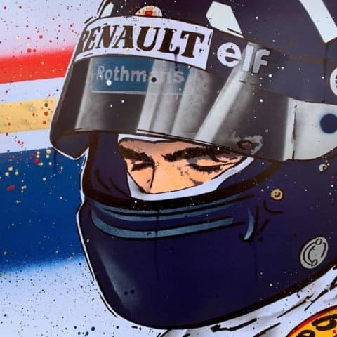 Damon Hill - Graffiti painting