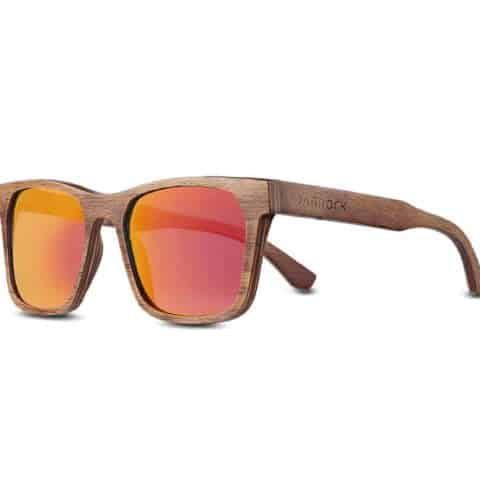 Delta Dusk Red - Luxury Racing Sunglasses - Wooden F1 Sunglasses
