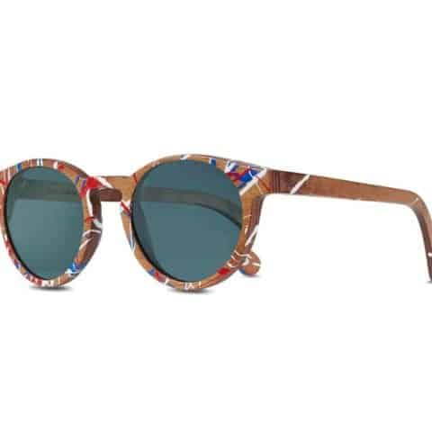 Paul Oz | Bullrun Grey - Wooden F1 Sunglasses (Limited Edition)