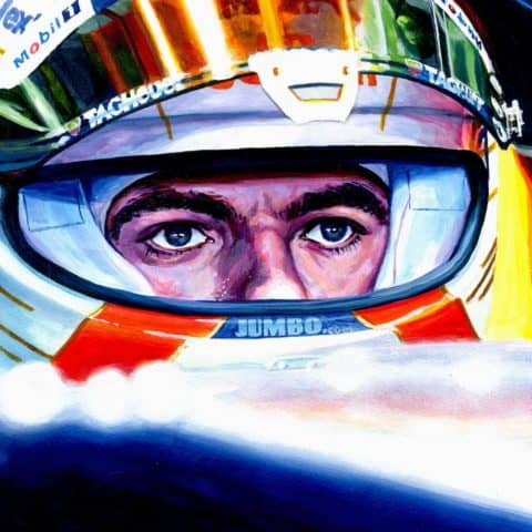 Max Verstappen | 2020 70th Anniversary GP Winner