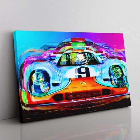 Porsche 917 wall Canvas