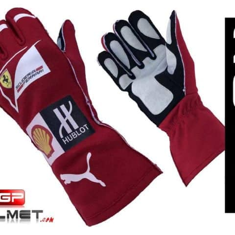 Kimi Raikkonen 2016 Replica racing gloves