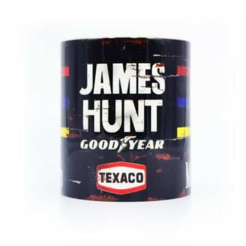 Vintage James Hunt Helmet Mug