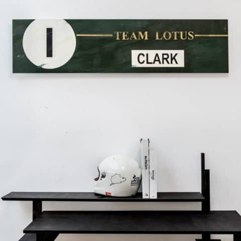 Legend Panels - JIM CLARK 1 - LOTUS - One-off Hand painted