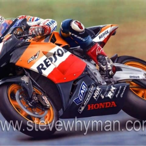 Nicky Hayden, MotoGP Art