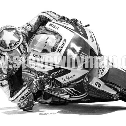 Ben Spies, MotoGP Art