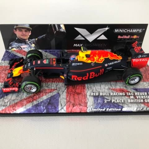 Max Verstappen | Red Bull Racing Tag Heuer RB12 | Minichamps Diecast 1:43 Scale
