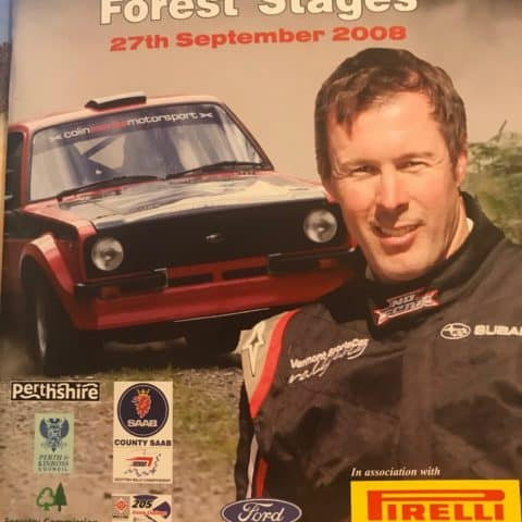 Colin McRae Forest Stages Programme 2008