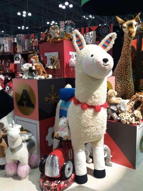 FAO Schwarz LLama Toy Fair 2019
