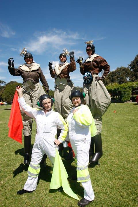 The Aviator Women at Viva la Gong