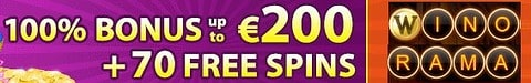 $7 no deposit bonus or 70 free spins gratis