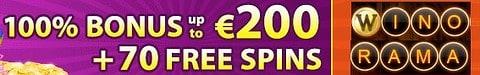 $7 no deposit bonus or 70 free spins gratis