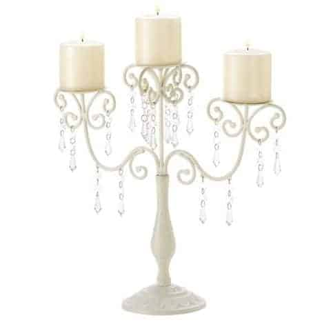 Candle holders for weddings