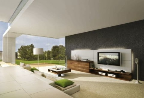 Smart living room with best view
