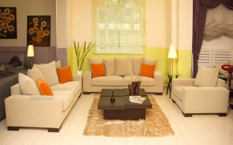 Smart living room with elegant style