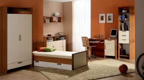 youth furniture for minimalist room
