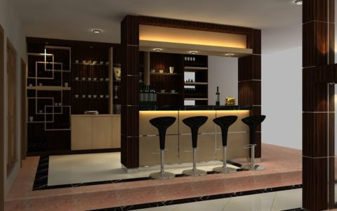 Mini bar for kitchen