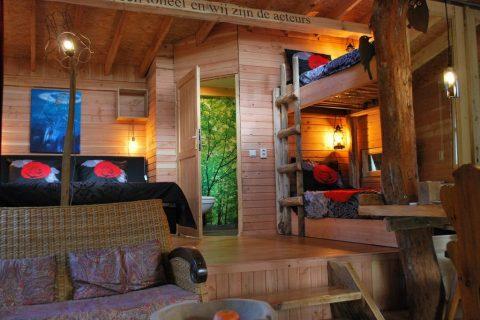 BoomhutXXL Interieur Camping Diever